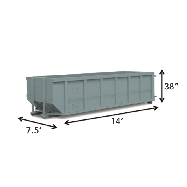 12-yard-container